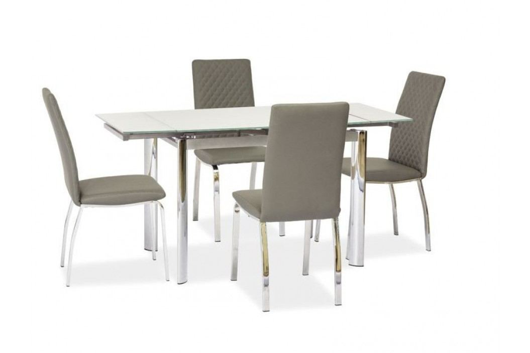 Jídelní stůl - Signal - GD-019 (tmavě béžová) (pro 4 až 6 osob)