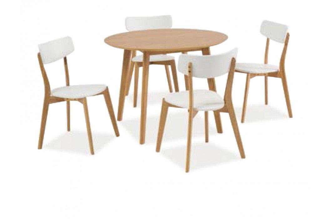 Jídelní stůl - Signal - Mosso II (dub) (pro 4 osoby)