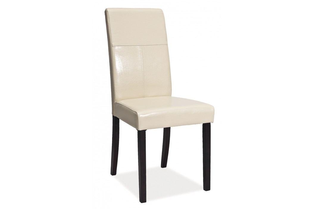 Jídelní židle - Signal - C-114 (krémová)