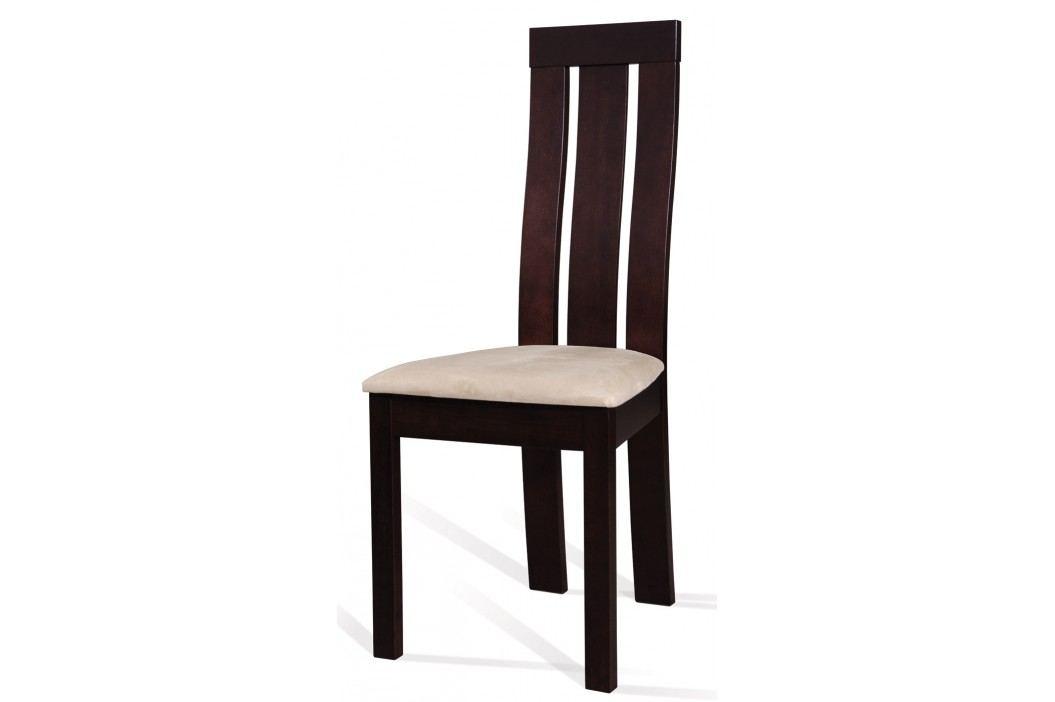 Jídelní židle - Signal - C-27 (wenge + tap. M03)