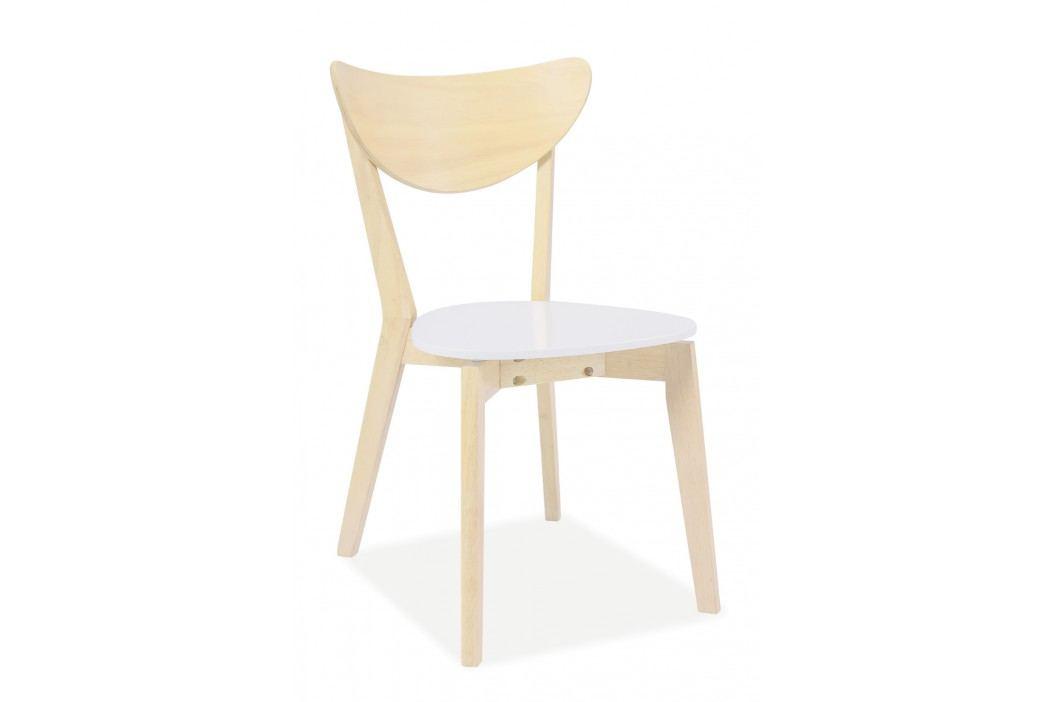 Jídelní židle - Signal - CD-19 (dub bílý)