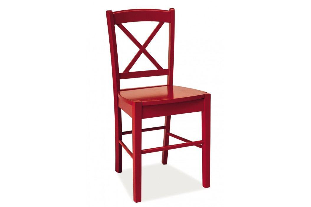 Jídelní židle - Signal - CD-56 (červená)