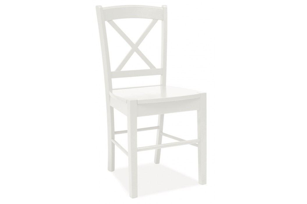 Jídelní židle - Signal - CD-56 (bílá)