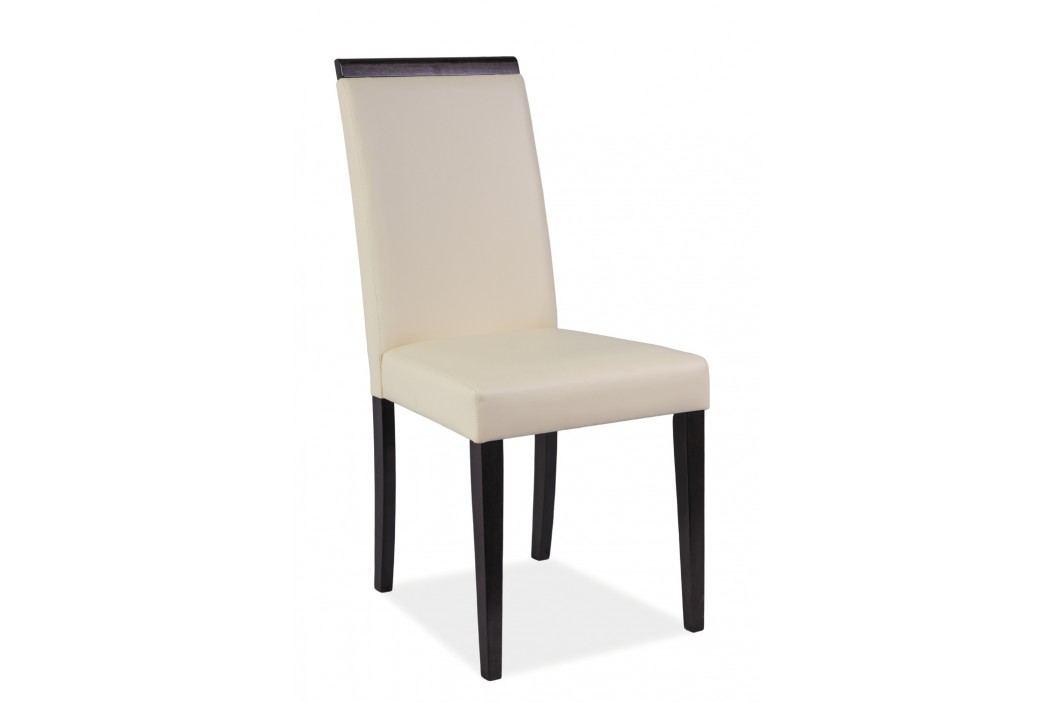 Jídelní židle - Signal - CD-77 (krémová + wenge)