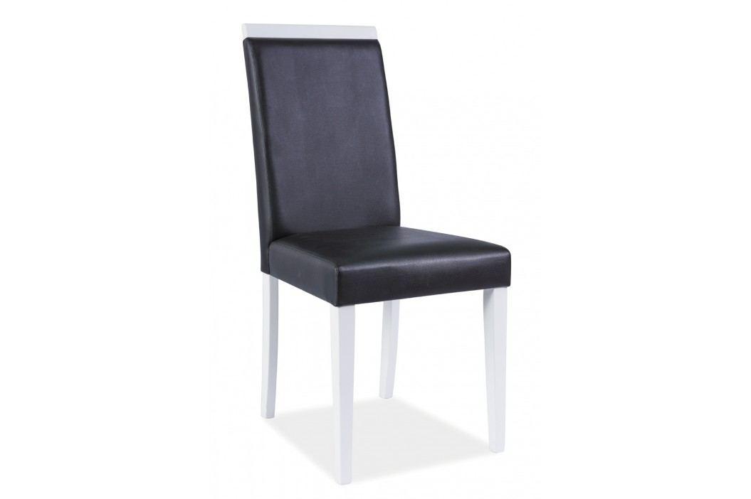 Jídelní židle - Signal - CD-77 (černá + bílá)