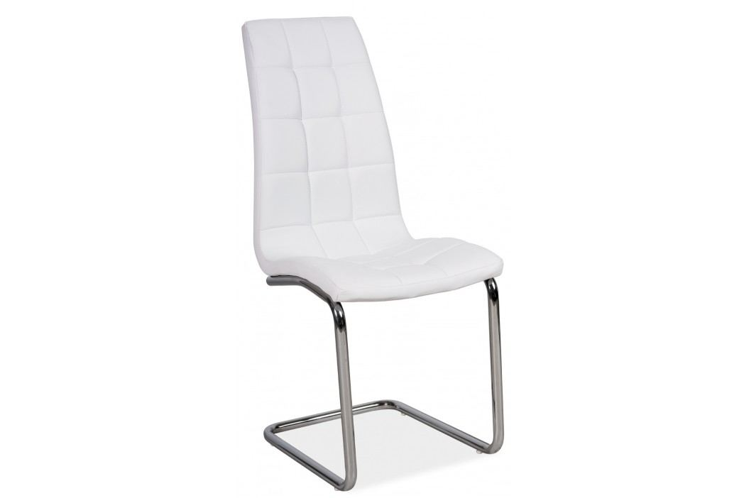 Jídelní židle - Signal - H-103 (ekokůže bílá)