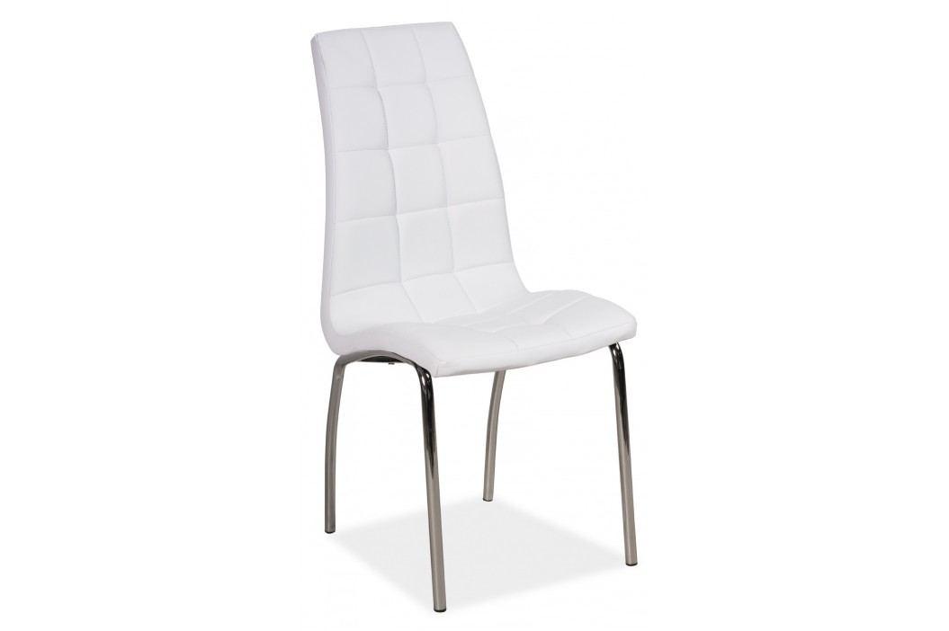 Jídelní židle - Signal - H-104 (ekokůže bílá)