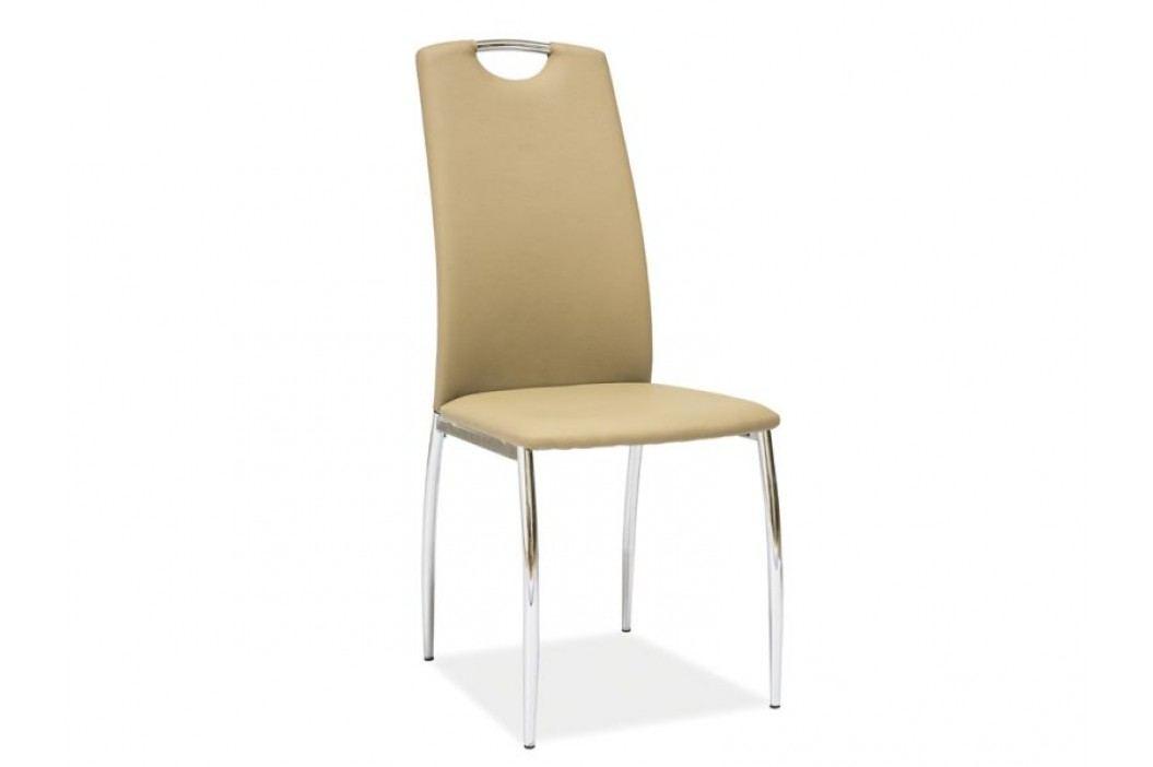Jídelní židle - Signal - H-622 (ekokůže hnedá)