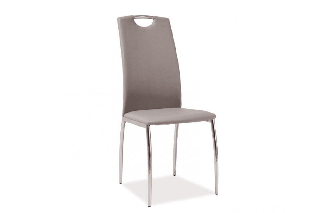Jídelní židle - Signal - H-622 (ekokůže tmavobéžová)