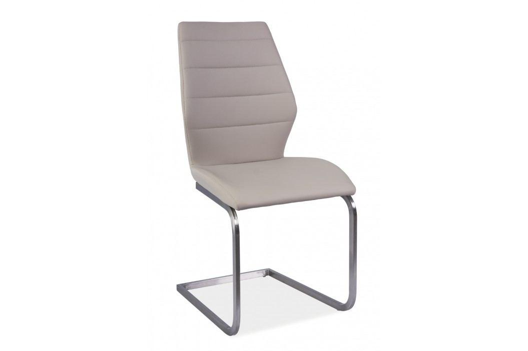 Jídelní židle - Signal - Kevin (ekokůže cappuccino)