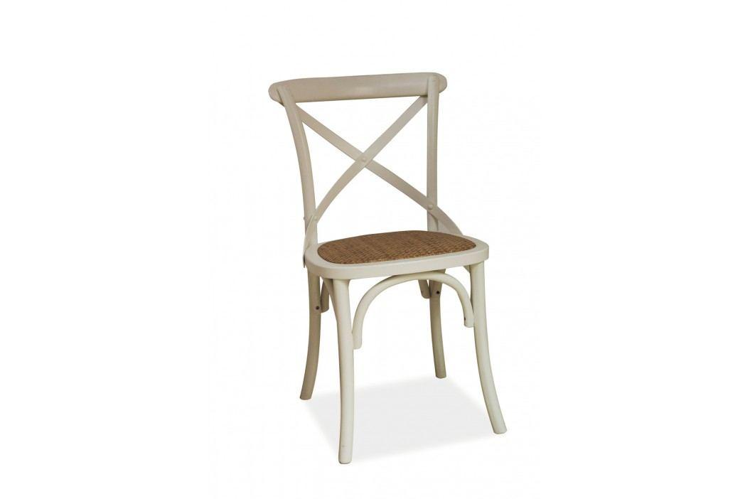 Jídelní židle - Signal - Lars (bílá)