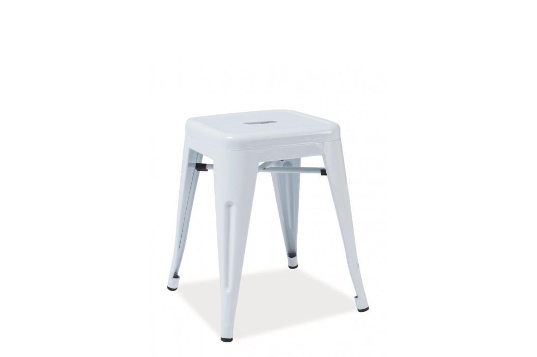 Barová židle - Signal - Spot (bílá)