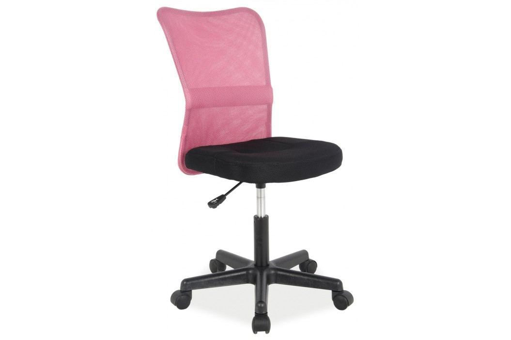 Kancelářské křeslo - Signal - Q-121 (ružová + černá)