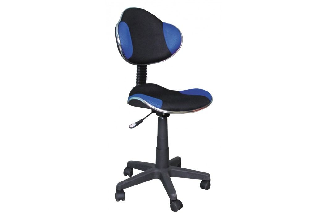 Kancelářské křeslo - Signal - Q-G2 (modrá + černá)