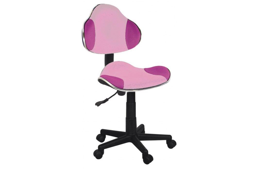 Kancelářské křeslo - Signal - Q-G2 (růžová)