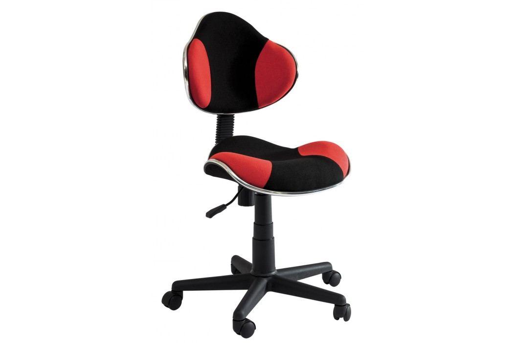 Kancelářské křeslo - Signal - Q-G2 (červená + černá)