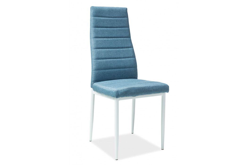 Jídelní židle H-266 (modrá)