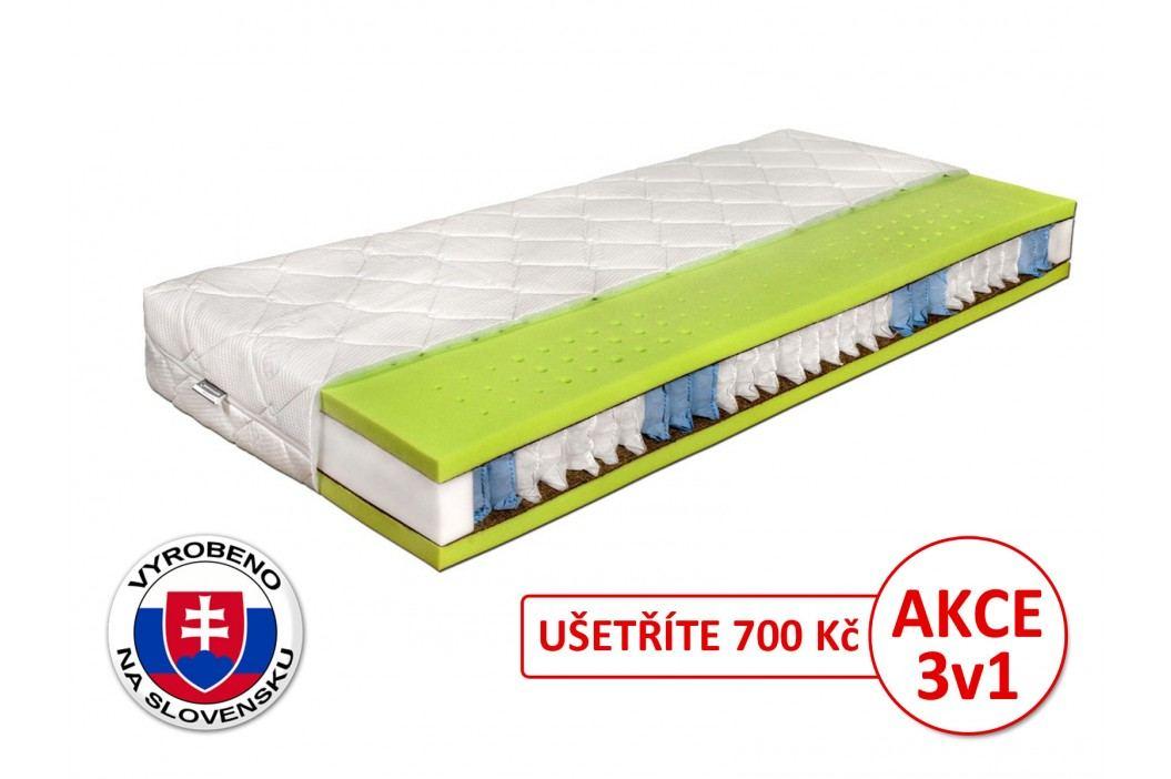 Taštičková matrace - Benab - Seven Zone Ergonomic - 200x90 cm (T3/T4)