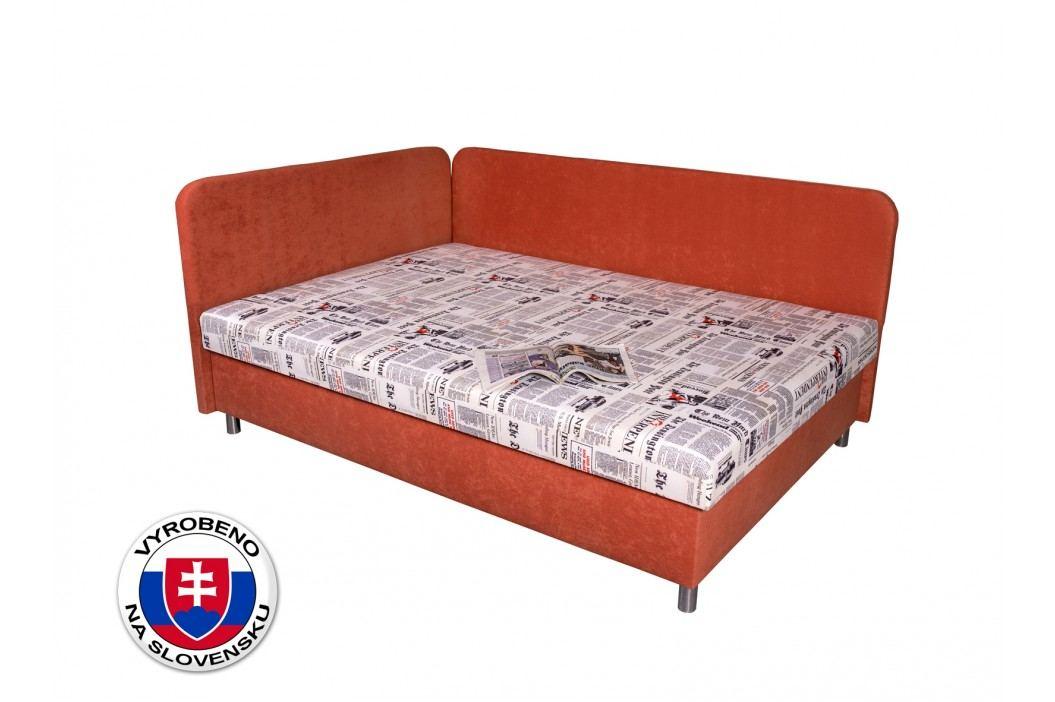 Jednolůžková postel (válenda) 110 cm - Benab - Hobby (s roštem, matrací a polštáři)