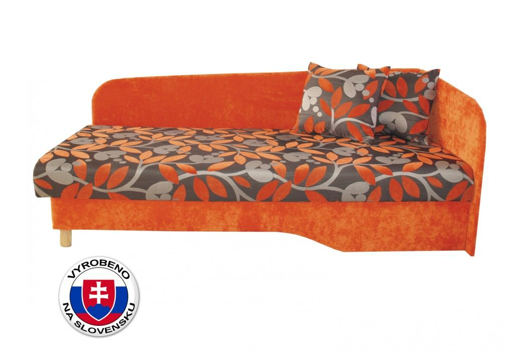Jednolůžková postel (válenda) 194 cm - Benab - Joka plus (P) (s roštem a matrací)