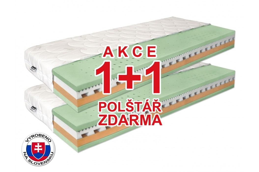 Matrace 1+1 zdarma - Benab - Omega Flex Duo - 200x70 cm (T3/T4)