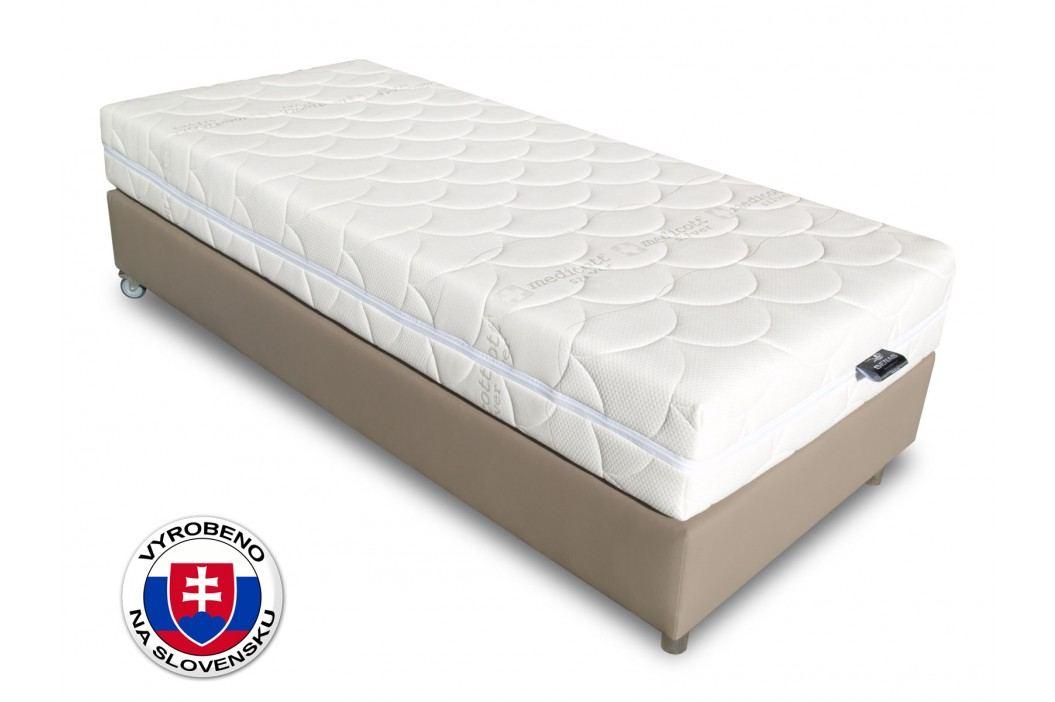 Jednolůžková postel 90 cm - Benab - Alfa Spring Box (s roštem)