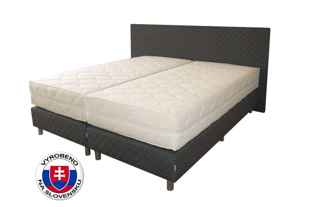 Manželská postel 180 cm - Benab - Sigma Spring Box (s rošty a matracemi)