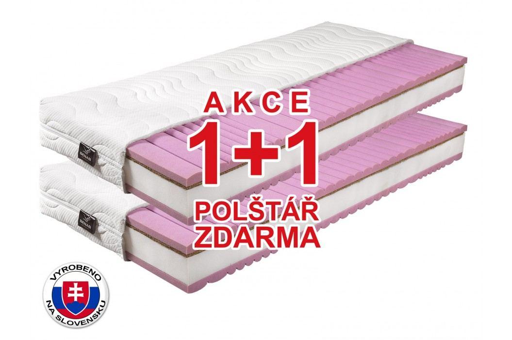 Pěnová matrace - Benab - King - 200x80 cm (T3/T5) *AKCE 1+1