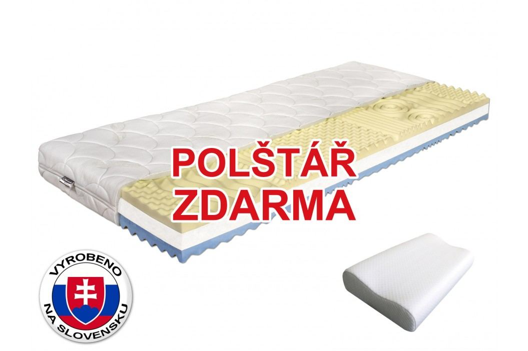 Pěnová matrace - Benab - Visco Plus - 200x90 cm (T3/T4) *polštář zdarma