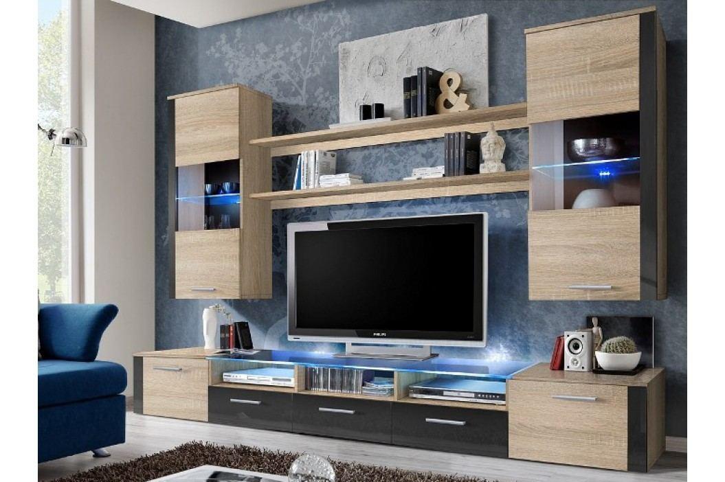Obývací stěna - ASM - Fresh - 21 DSG FR (s osvětlením)