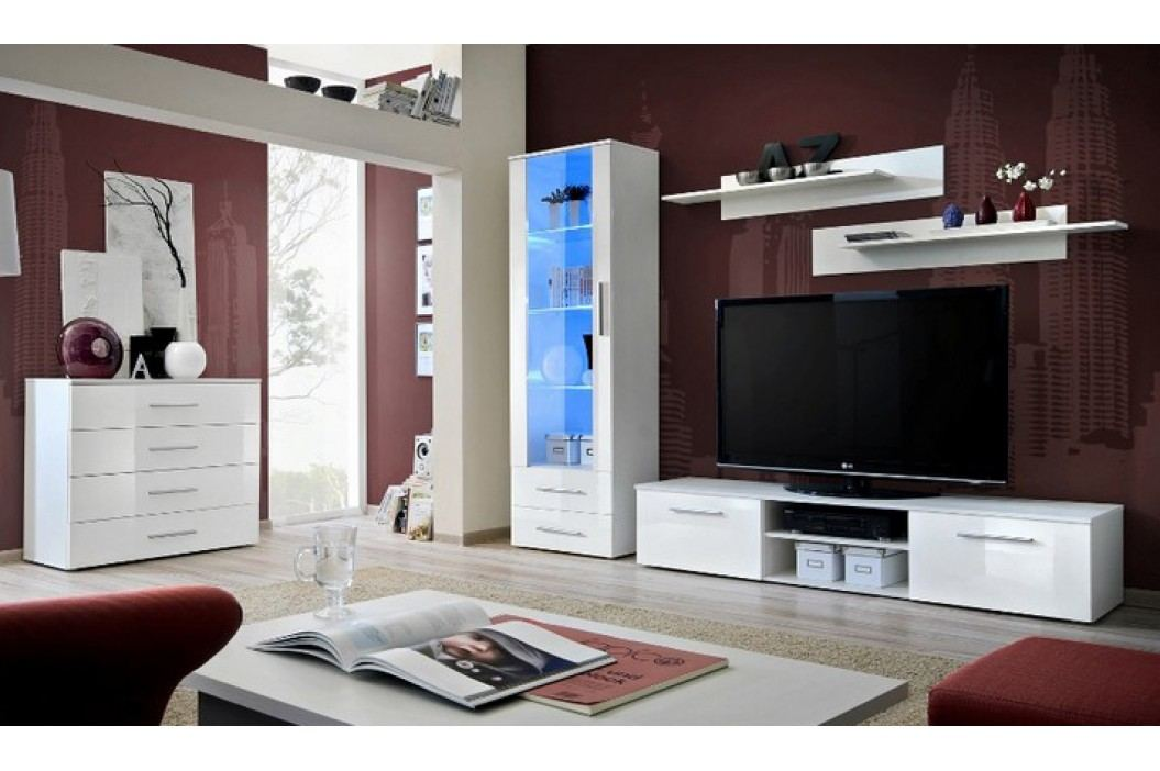 Obývací pokoj - ASM - Galino - 23 WWH GB (s osvětlením)