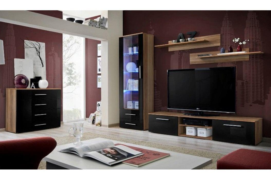 Obývací pokoj - ASM - Galino - 23 NSH GB (s osvětlením)
