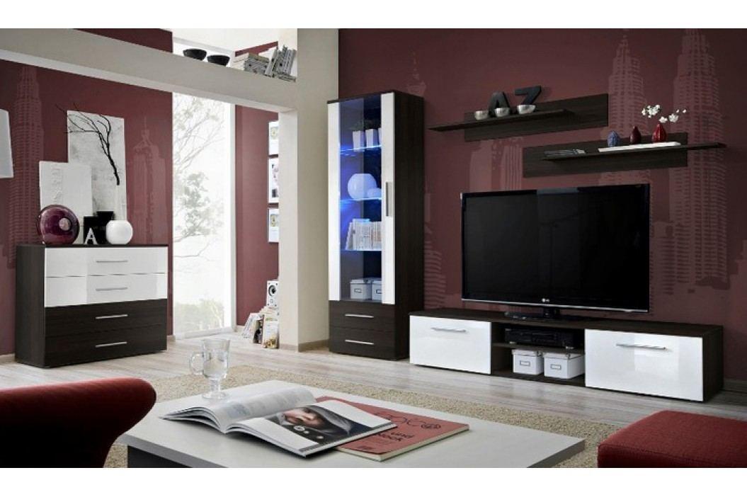 Obývací pokoj - ASM - Galino - 23 EMEMWH GB (s osvětlením)