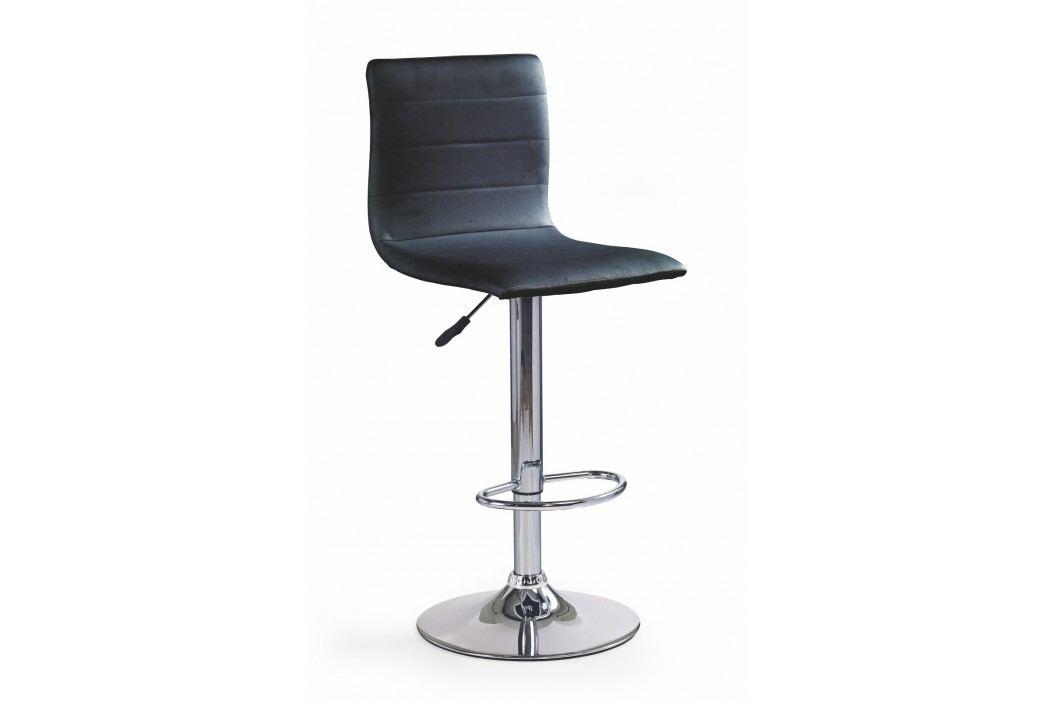 Barová židle - - H-21 černá