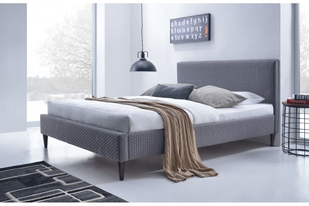 Manželská postel 160 cm - - Flexy (s roštem)