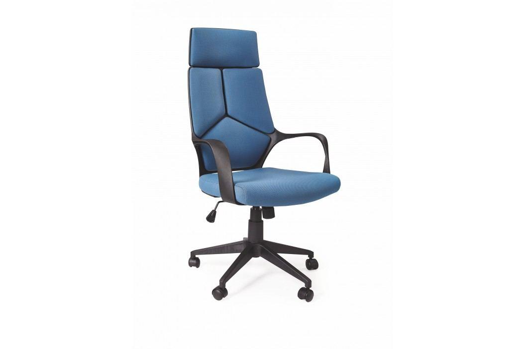 Kancelářské křeslo - - Voyager (modrá + černá)