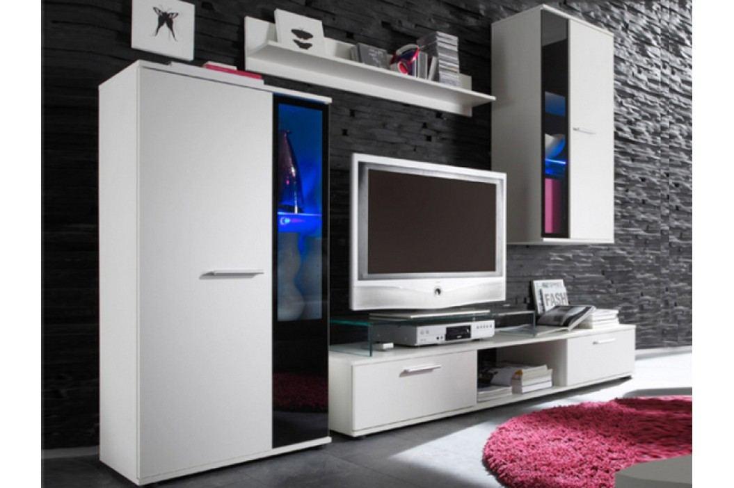 Obývací stěna - Salesa bílá *masážní přístroj ZDARMA