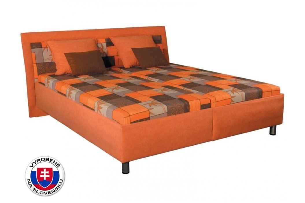 Manželská postel 180 cm - Mitru - Zoja (se sendvičovou matrací)