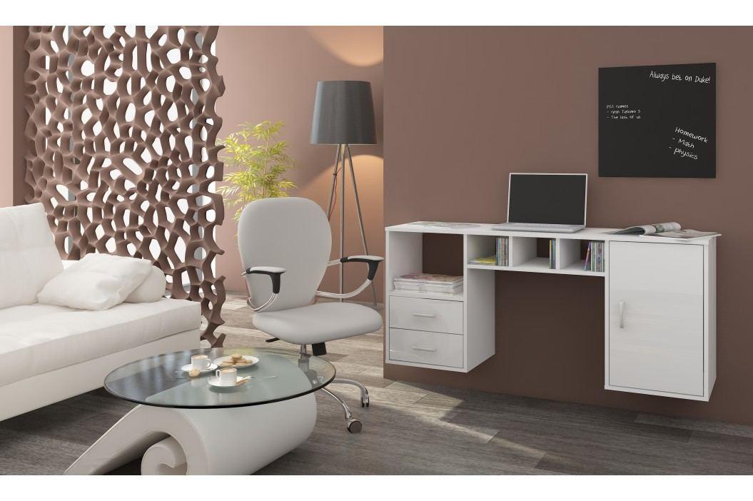 PC stolek - WIP - Hanger bílá + lesk bílý