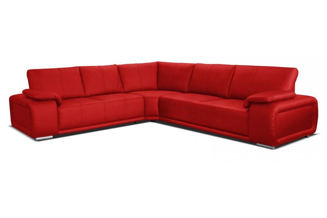 Rohová sedací souprava - Po-Sed - Buffalo 2+A+3 (červená) (L)