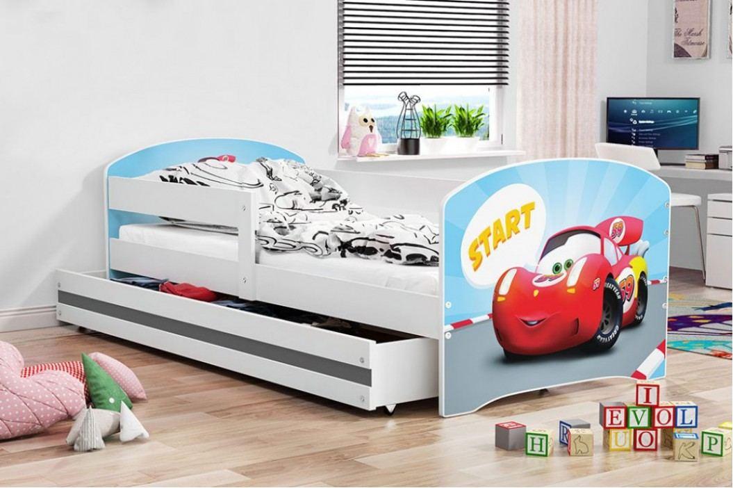 Dětská Postel Luki 80x160 cm - BMS