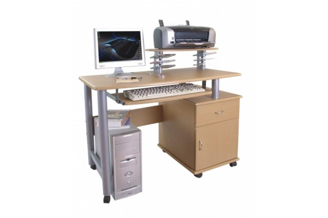 Pc stůl CT-2631 buk