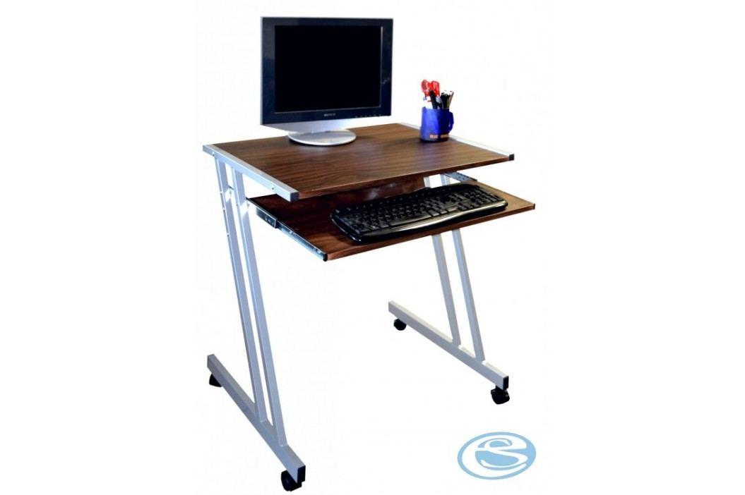 PC stůl 106 ořech