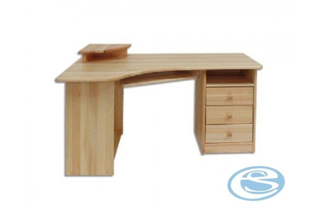 Rohový psací stůl BR104 -