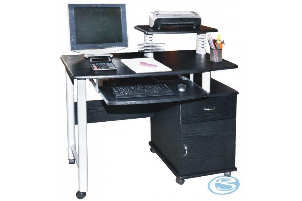 PC stůl CT-2631 černý