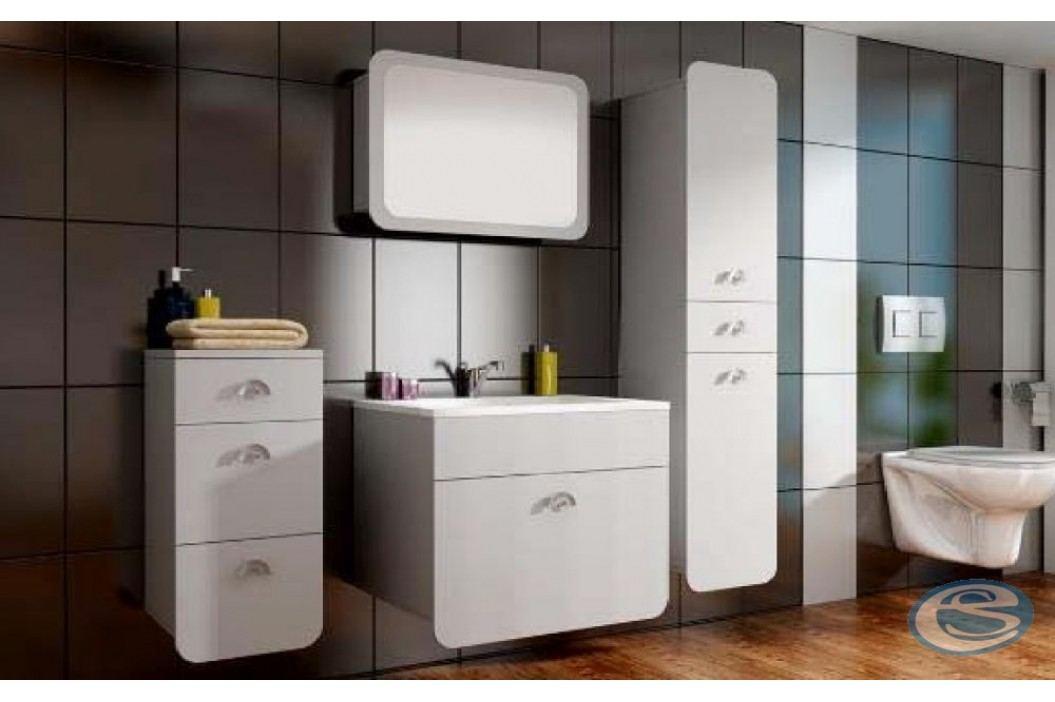 Koupelnový nábytek Rondo bílý