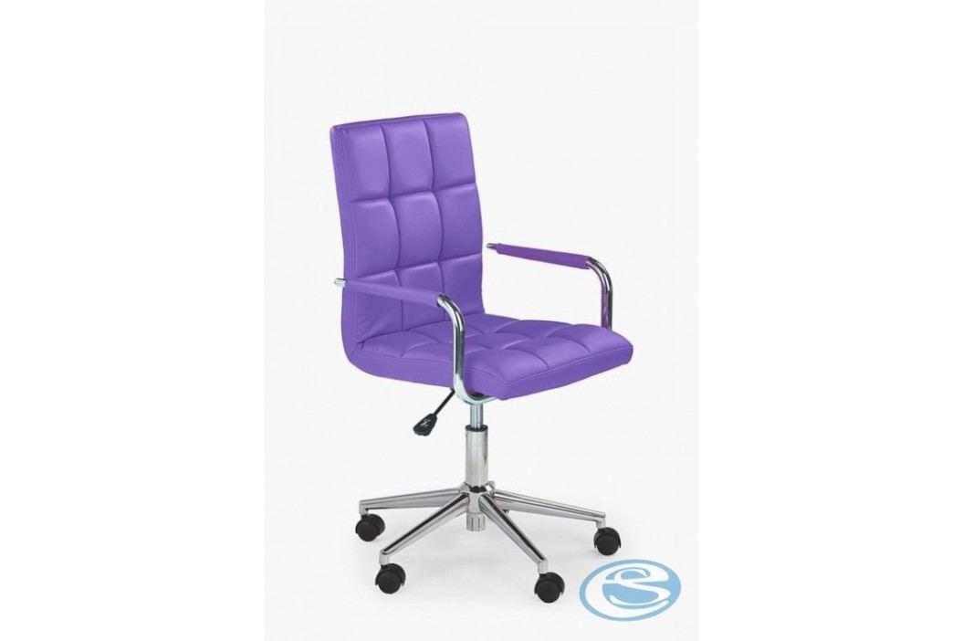 Židle Gonzo 2, fialová - HALMAR
