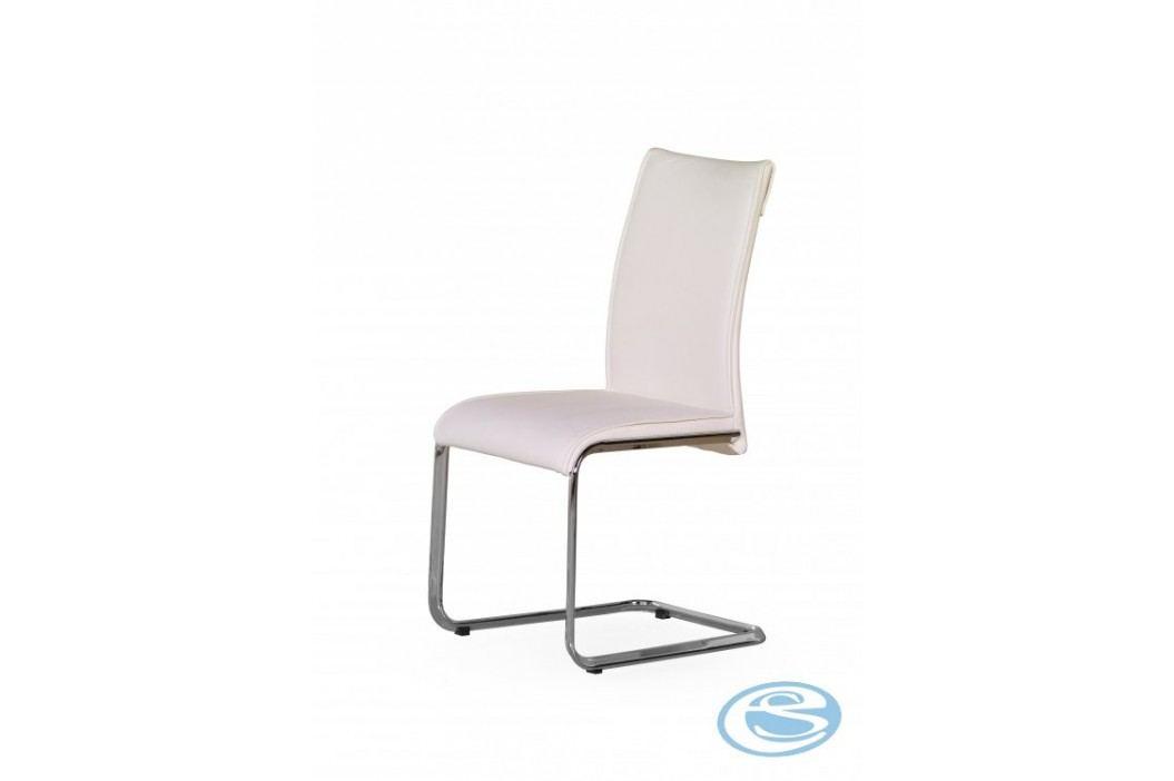Jídelní židle Paolo bílá - HALMAR obrázek inspirace