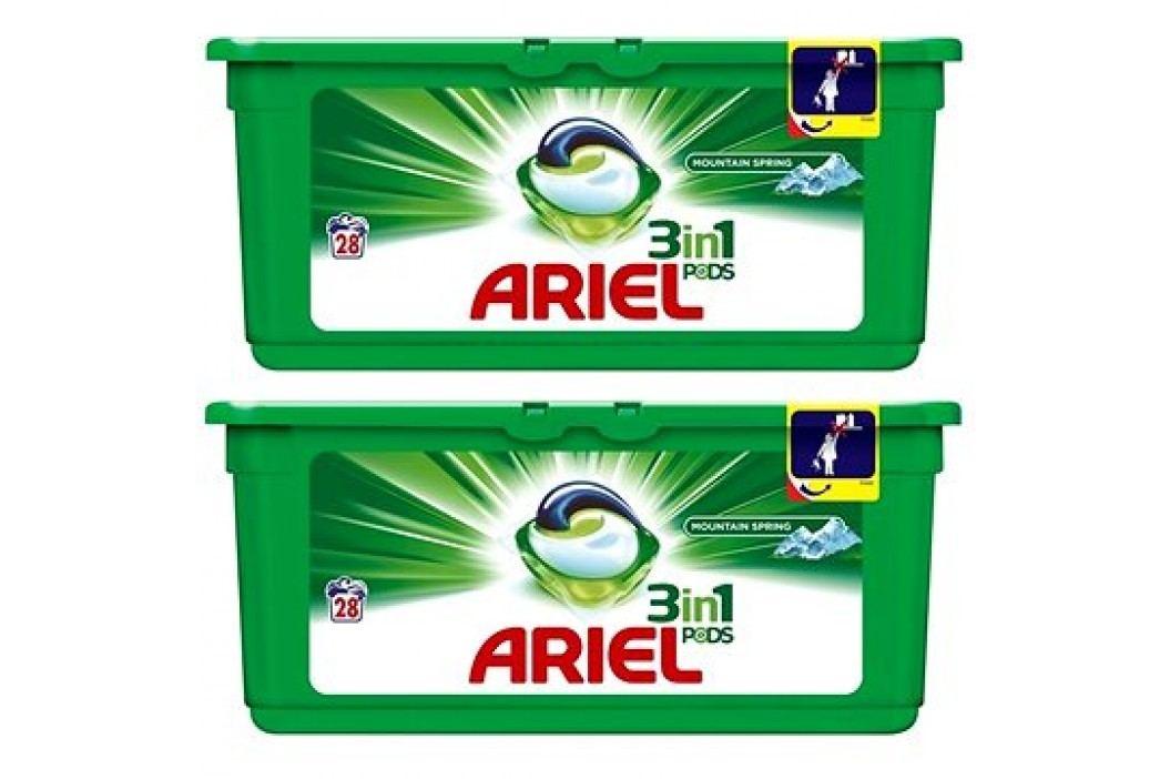 Ariel Mountain Spring gelové kapsle 56 ks