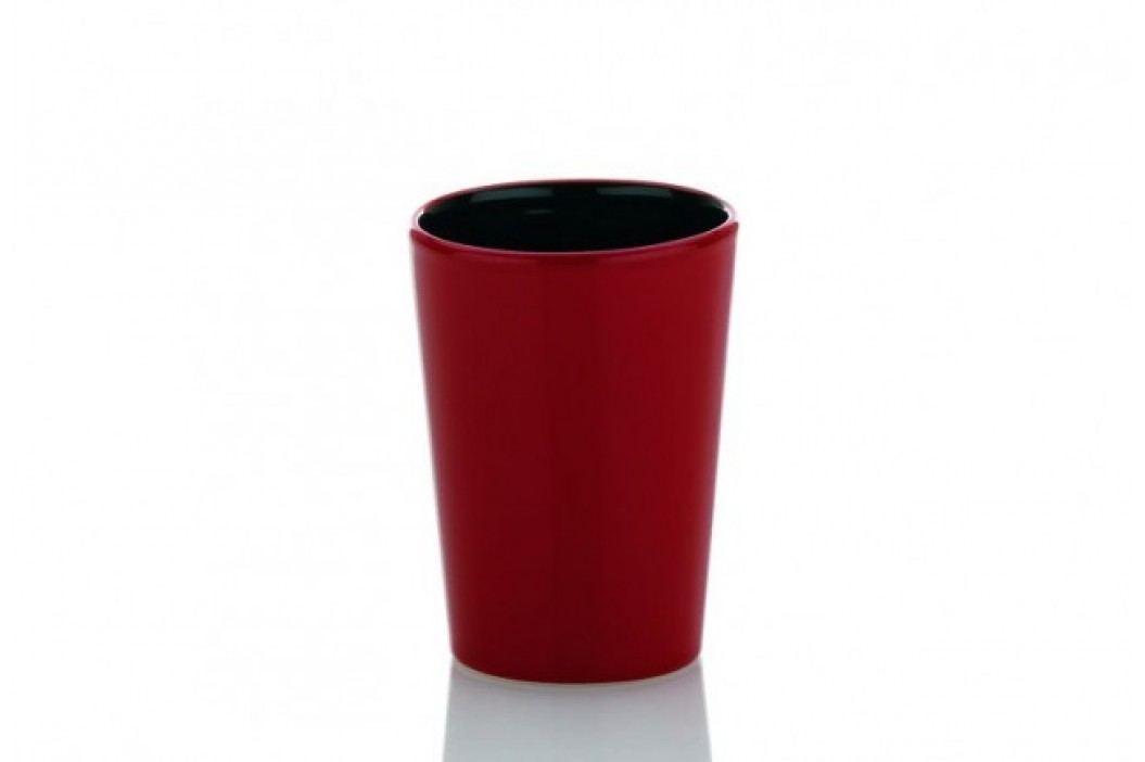 Pohár GARBO keramika červený KELA KL-21322
